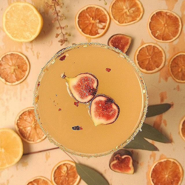 Fig & Rose Hip Lemon Vodka Drop