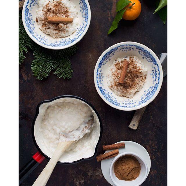 Coconut Milk And Cinnamon Scented Rice Porridge