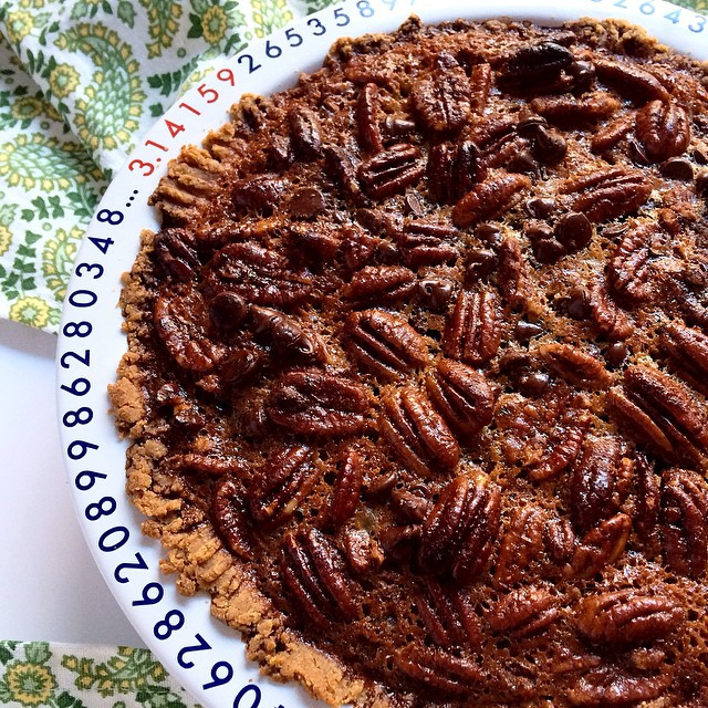 If you invite a Mainer to Thanksgiving, she is going to bring a Maple Chocolate Pecan Pie with her