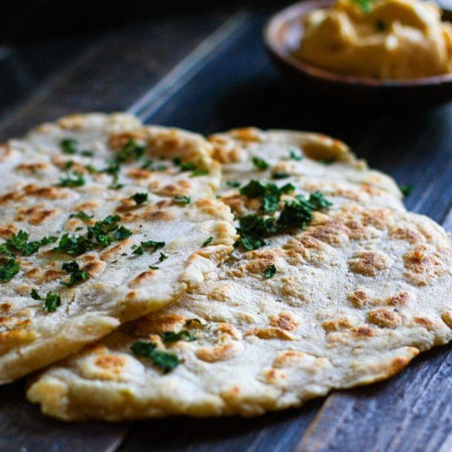 Grain Free Naan Bread With Cassava Flour