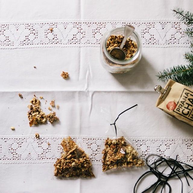 Chai Spiced Granola