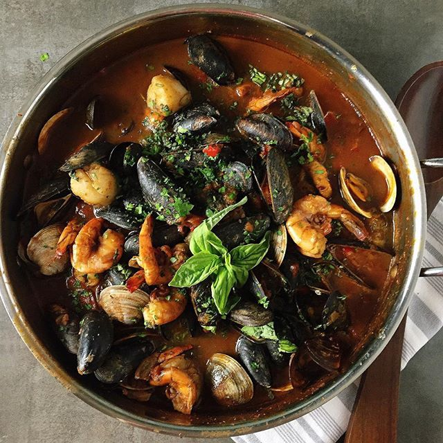 Cioppino - since I absolutely love eating it, how wonderful that it's Paleo--aside from a little bit…