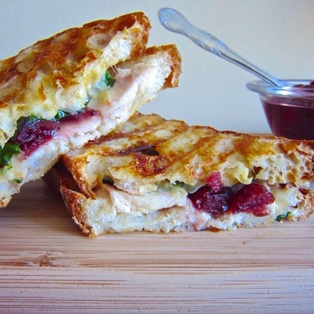 Turkey And Cranberry Panini