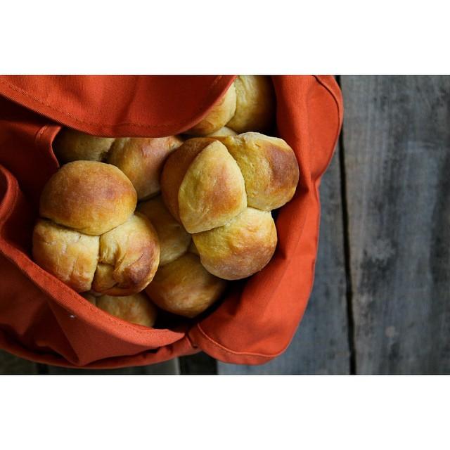 Maple And Sweet Potato Dinner Rolls