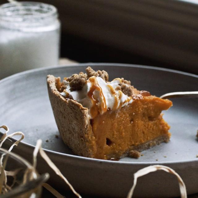 Sweet Potato Pie With Lemon & Cinnamon
