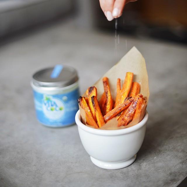 Maple Glazed Carrot Fries