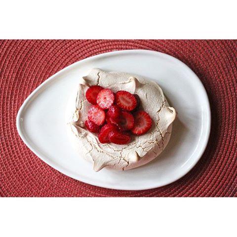 Schaum Tortes (strawberries And Meringue ) • Allison C.