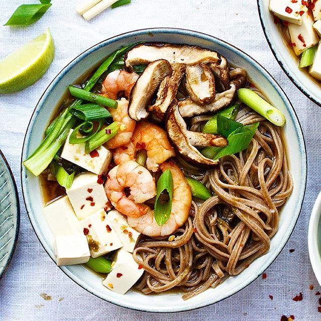 recipe: seafood soba soup [12]