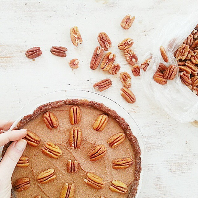 Gluten-free, Vegan, Raw, And Refined Sugar Free Pecan Pie