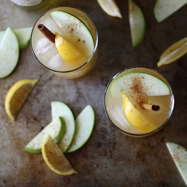 Pumpkin And Apple Spice Vodka Cocktails