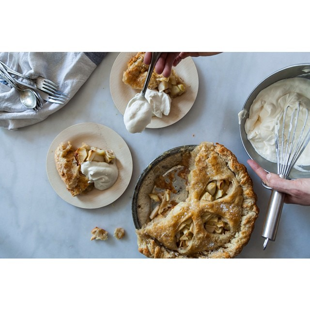 Apple and Salted Caramel Pie Recipe