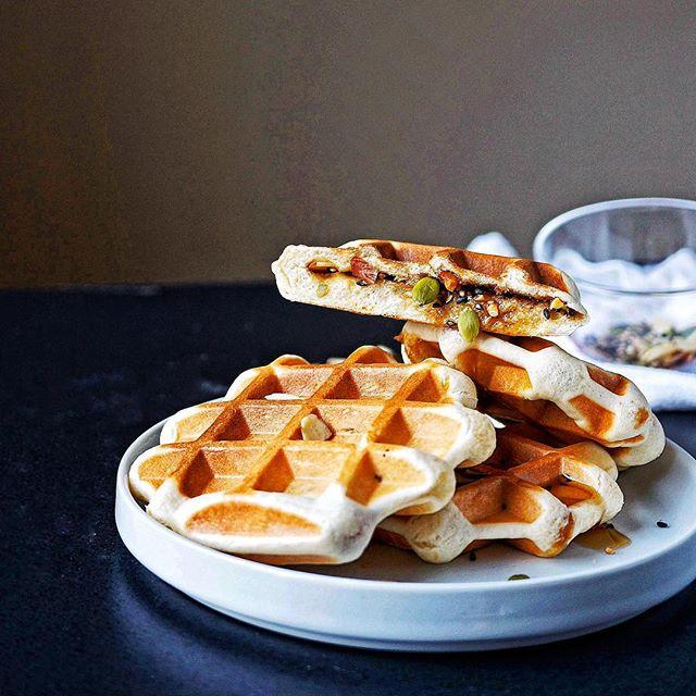Korean Cinnamon Waffles