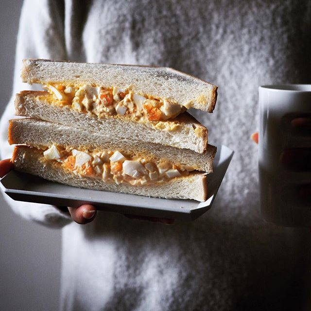 Absolutely love this classic egg salad sandwich.