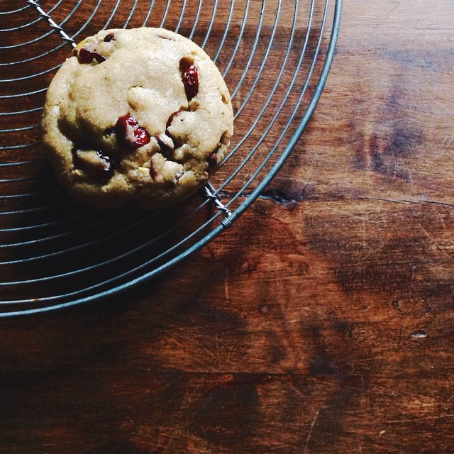 Orange & Cranberry Chocolate Chip Cookies