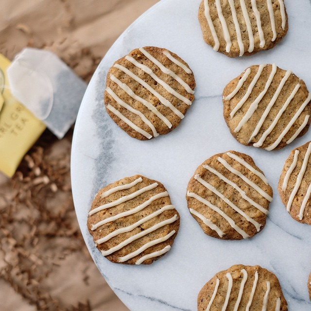It's a bit...earl grey...today.  It's also day 07/12 days of cookies! You can find the recipe for…