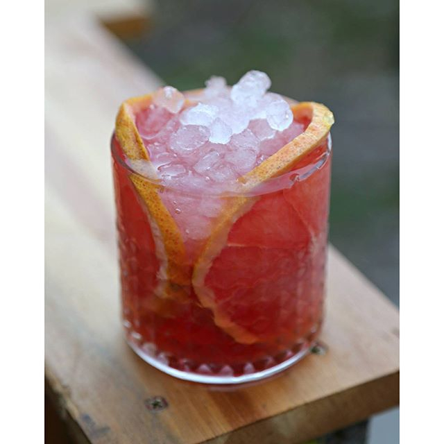 Ruby Red Grapefruit Cocktail