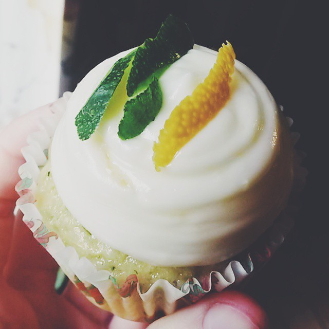 Zucchini Cupcake