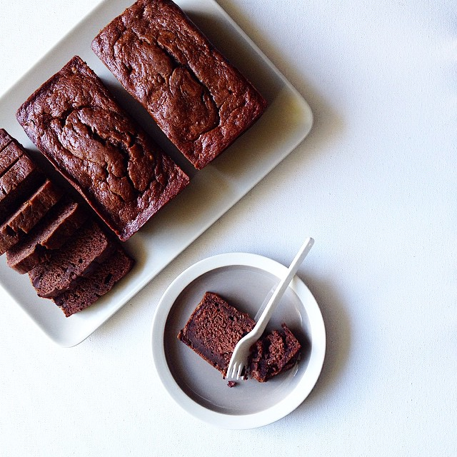 Sour Cream Chocolate Chip Banana Bread.  Make. This. Now.  You won't regret it. I promise.
