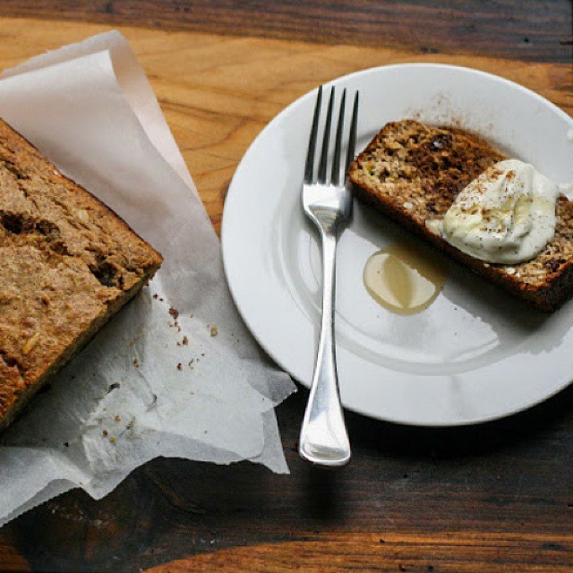 Banana & Muesli Bread