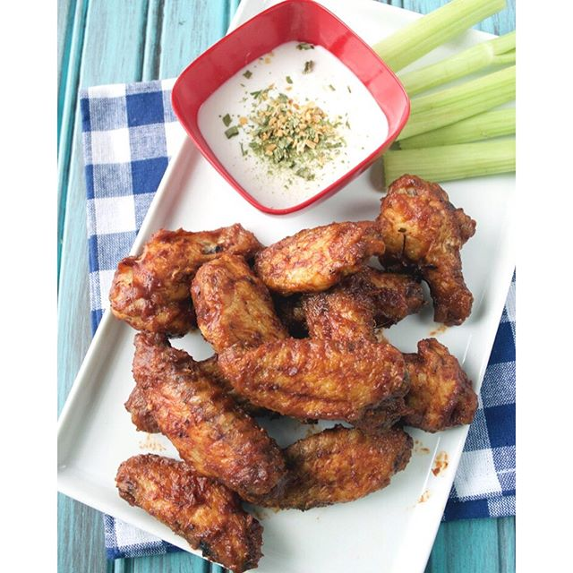 Who else loves Buffalo Wild Wings ! I recreated my favorite BWW Caribbean Jerk wings Paleo-style!…