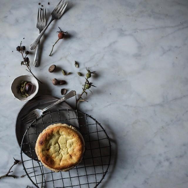 Nutmeg & Cardamom Petite Crème Tarts With Lemon