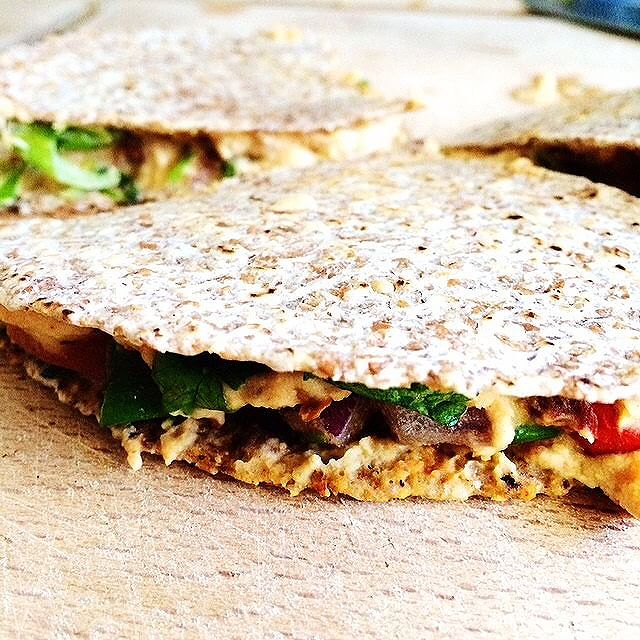 Vegan No-queso Quesadillas