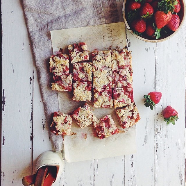 Strawberry Streusel Bars