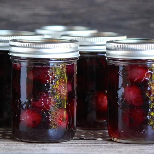 Cherries Soaked In Bourbon