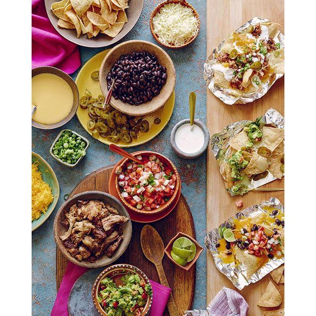 Nacho Bar With Homemade Tortilla Chips