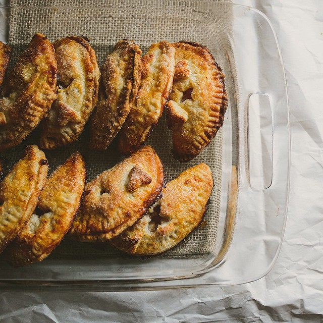 Black Pepper Apple Hand Pies
