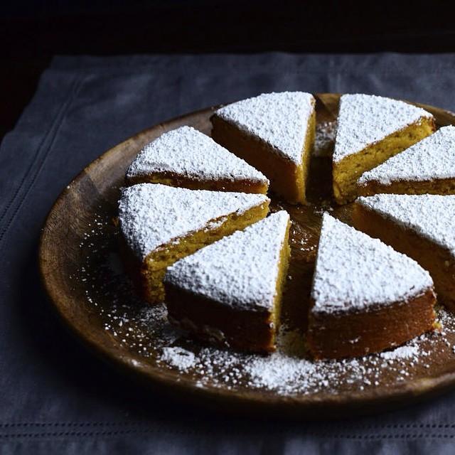 Tangerine Almond Cake