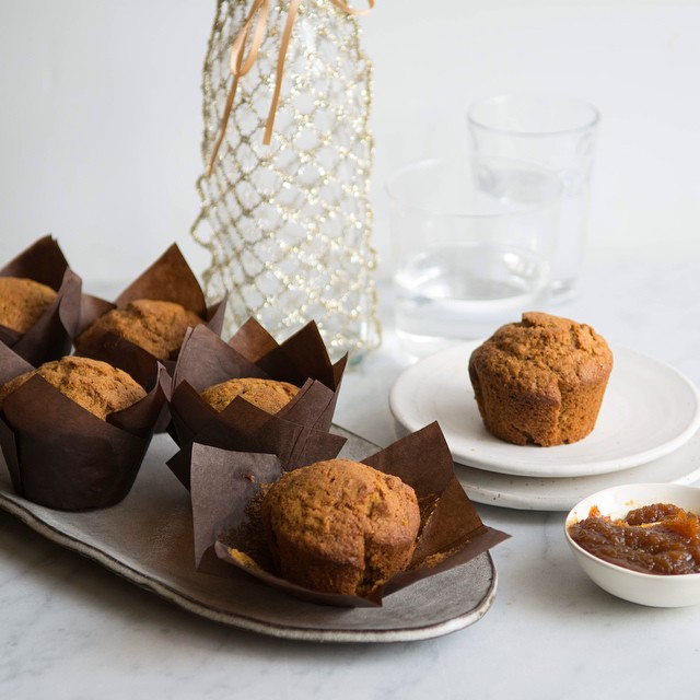 Sweet Potato Chai Muffins