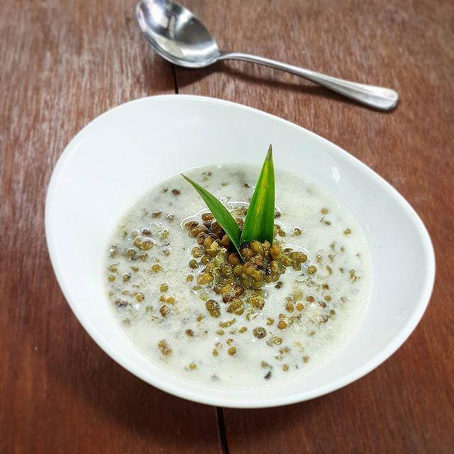 Mung Bean Porridge With Coconut Milk