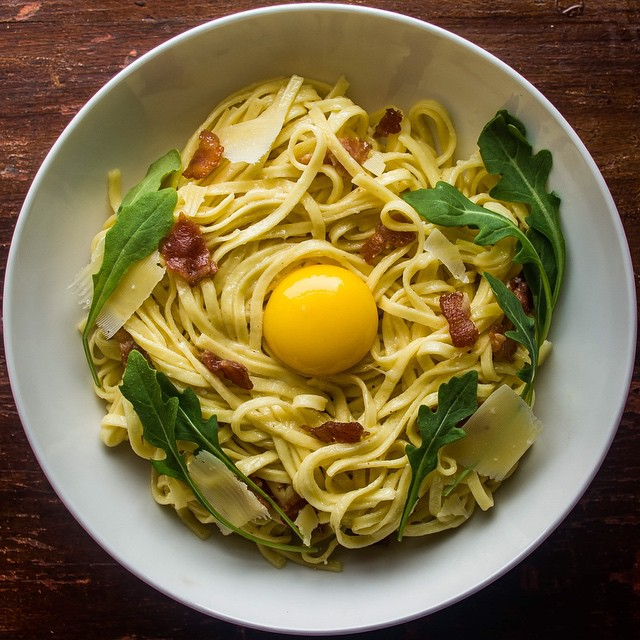 Maple Carbonara