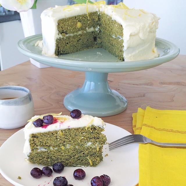 Stinging Nettle Cake