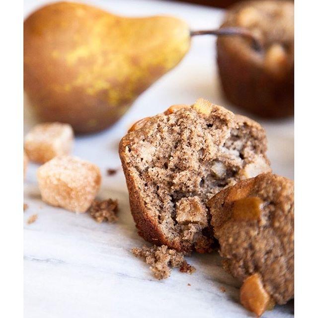 Buckwheat Pear Muffins