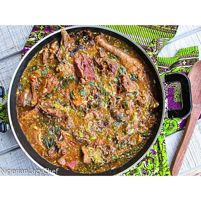 Nigerian Okra Soup Oilless Ogbono By Nigerianlazychef Quick Easy Recipe The Feedfeed