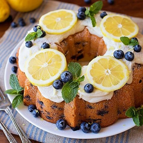Lemon Cake Recipe With Pictures