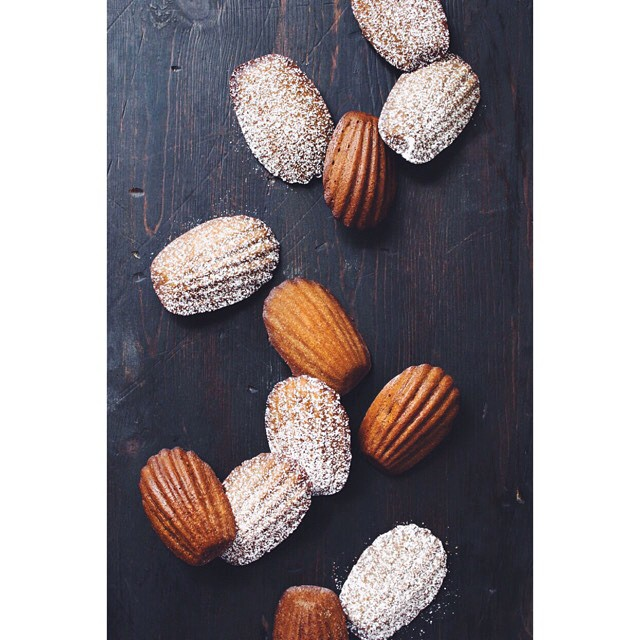 Spiced Gingerbread Madeleines