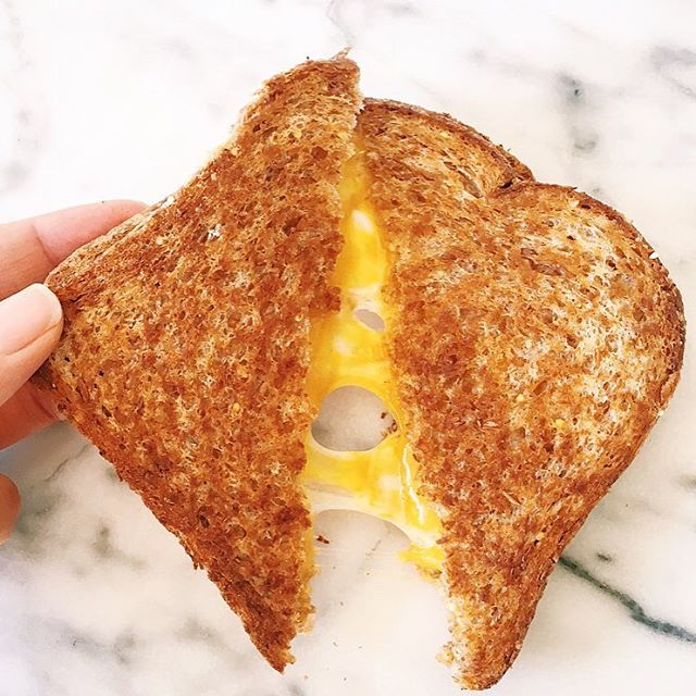 Cheddar And Gruyère Grilled Cheese