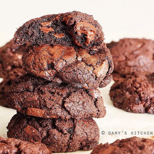 Gluten Free Chocolαte Chunk Cookies