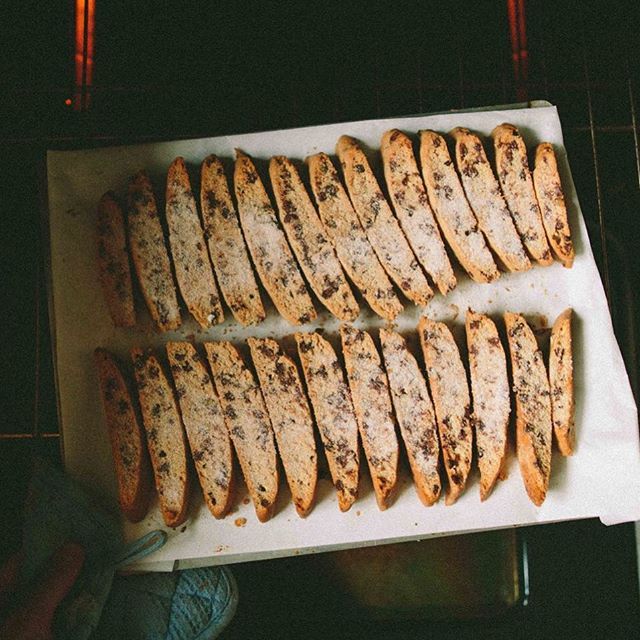 This chocolate chip and orange mandel bread is perfect for breakfast or dessert... ok, really…