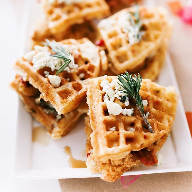 Fried Chicken And Waffle Sliders
