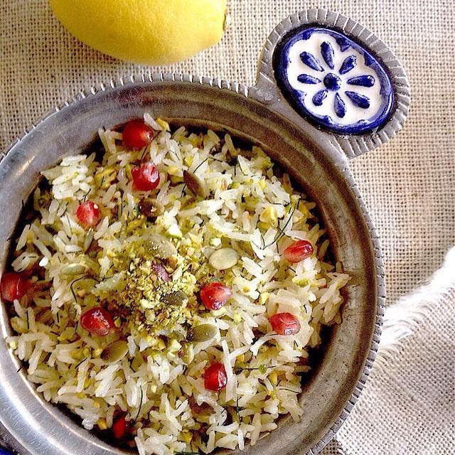 Lemon And Dill Pilaf