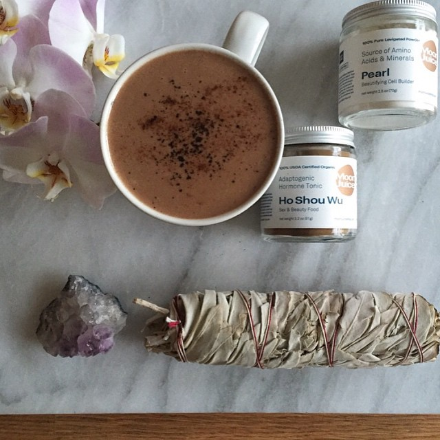 Adaptogenic Hot Chocolate With Coconut Milk
