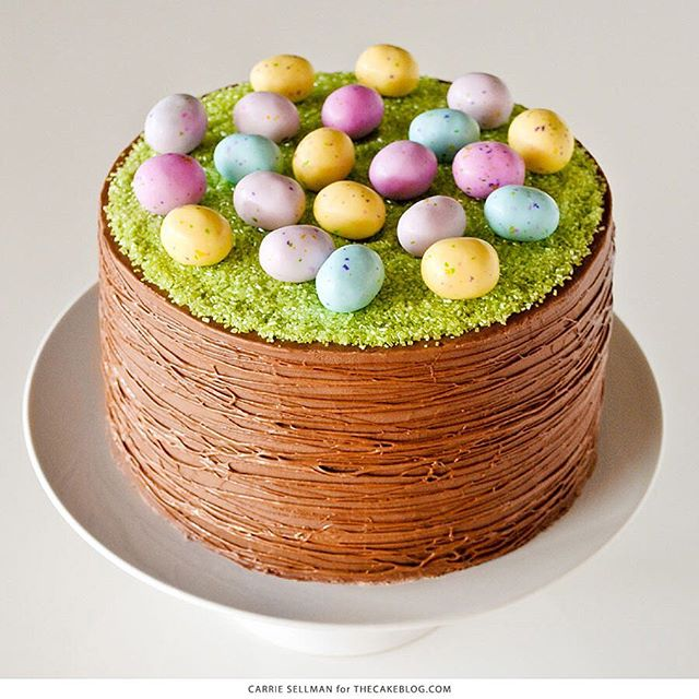 Chocolate easter basket cake thefeedfeed chocolate easter basket cake negle Gallery
