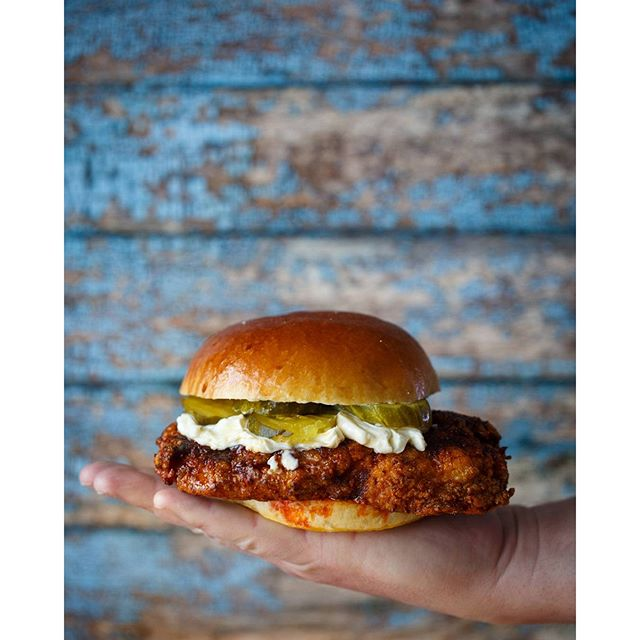 Hot Chicken Cutlet Sandwich With Quick Cucumber Pickles