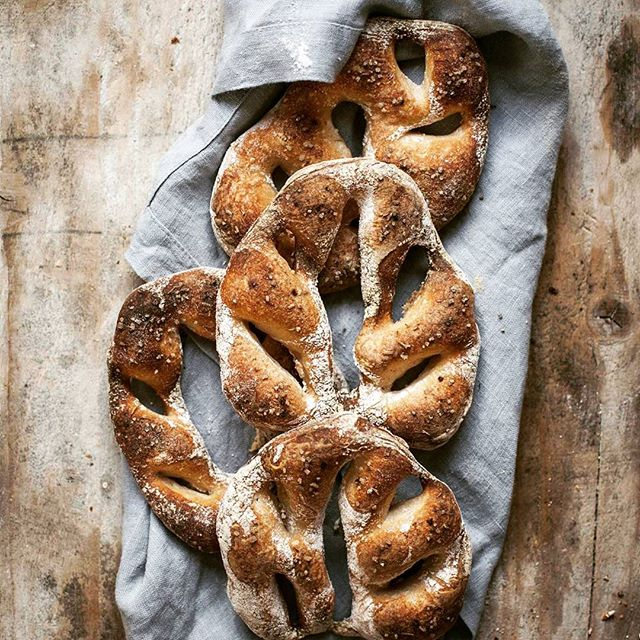 Sourdough Fougasse
