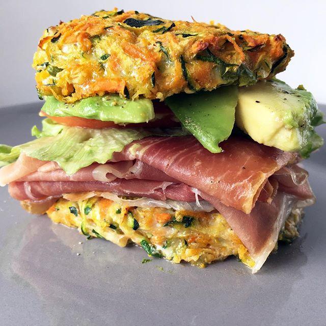 Zucchini Fritter Sandwich Recipe By Christi Lazar The