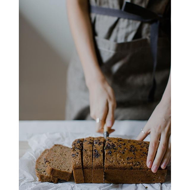 Buckwheat Zucchini Bread With Cacao Nibs